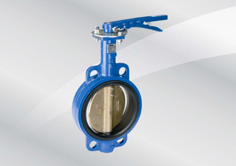 Wafer Pipe Size 4 In Butterfly Valve